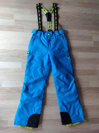 Spodnie narciarskie bejo 158 niebieskie