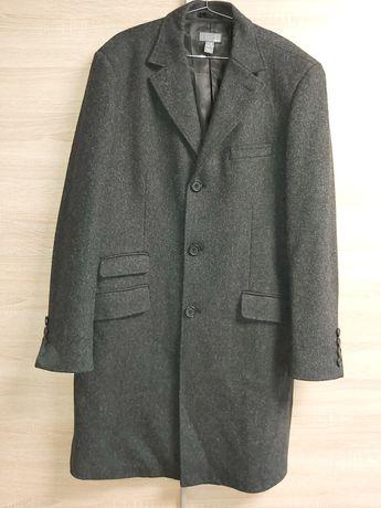 Мужское пальто H&M, Серое, 50 размер