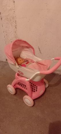 Wózek hello kity wraz z interaktywną lalką