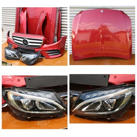 Mercedes-Benz E-klasse W213 Капот дверь бампер крышка багажника фары