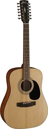 Gitara elektro-akustyczna 12-strunowa Cort AD810-12E-OP