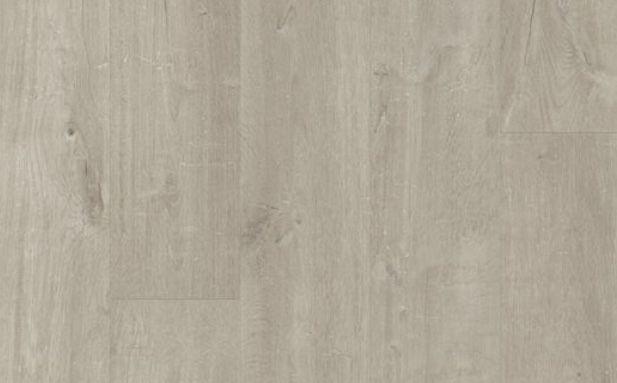 Panele winylowe TANIO Quickstep dąb bawełniany ciepłoszary 40105