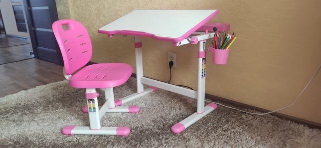 Парта-трансформер, стул Fun Desk Piccolino