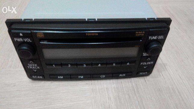 штатное головное устройство Toyota Prado 150