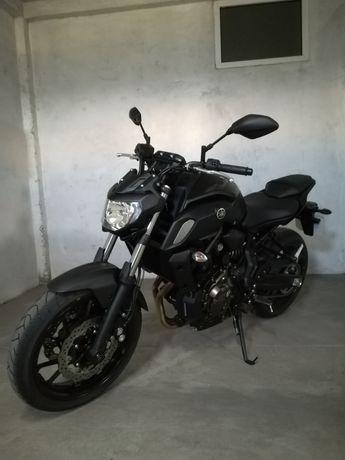 Yamaha MT07 de 2018