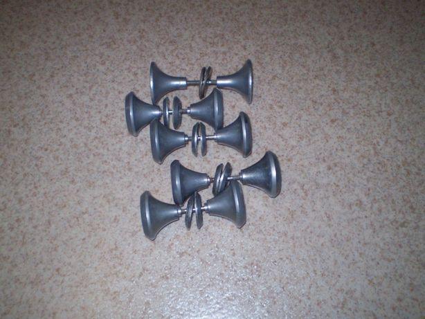 Ручка ручки дверные алюминий, СССР.