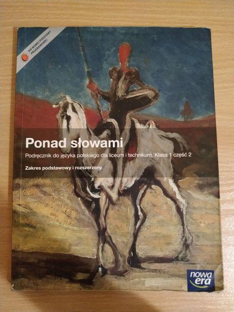 Podręcznik Ponad słowami klasa 1 część 2 cz.2 do języka polskiego