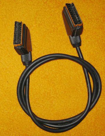 Kabel EURO SCART/SCART wtyk/wtyk