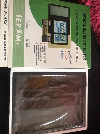 Защитный винтажные экран на монитор стекло компьютер
