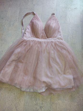 Nowa sukienka tiulowa, suknia ślubna wieczorowa 42 44 46