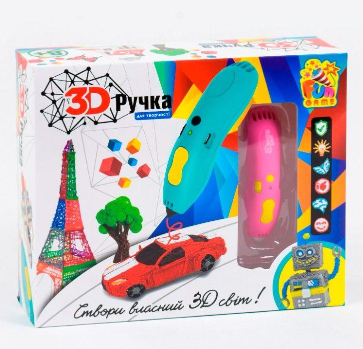 """Ручка 3D 7424 """"FUN GAME"""", 2 цвета, пластик ABS, в коробке Одесса - изображение 1"""