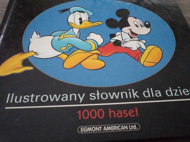 Angielski z Waltem Disneyem - Ilustrowany Słownik dla dzieci