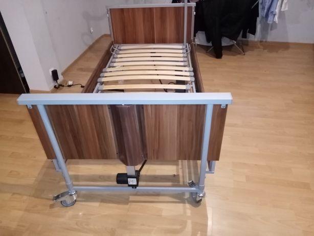Łóżko rehabilitacyjne elektryczne z pilotem Bock Domiflex +materac