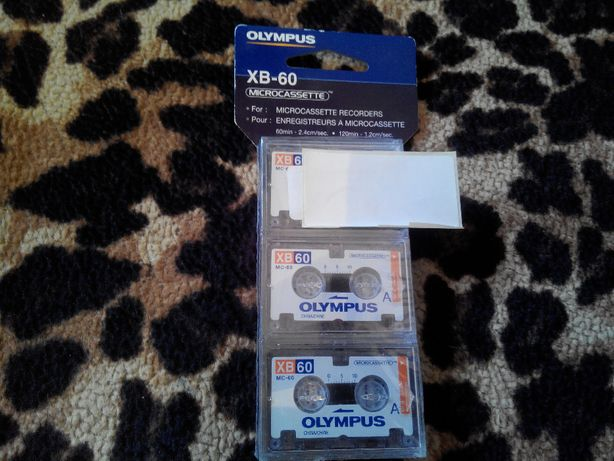 nasty Микрокассета аудио OLYMPUS XB-60NP3 Новые