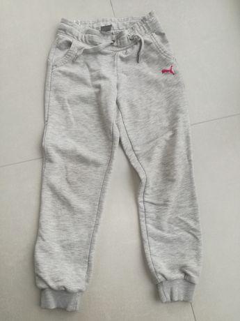 PUMA spodnie dresowe rozm128