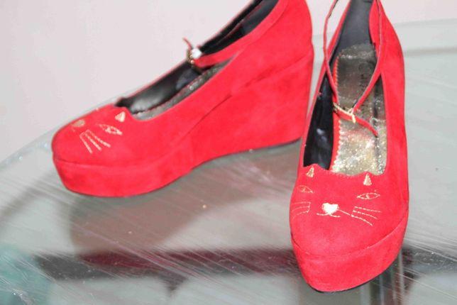 Слипоны, нарядные туфли