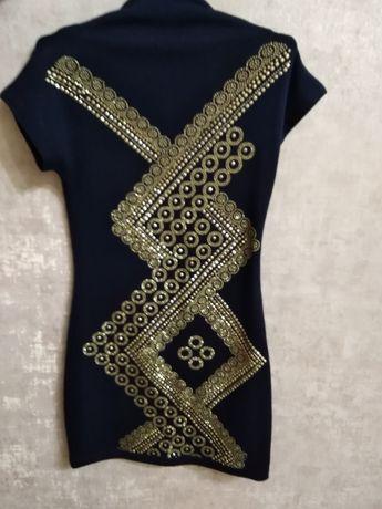 Трикотажные платье 146р., для девочки 9-11 лет