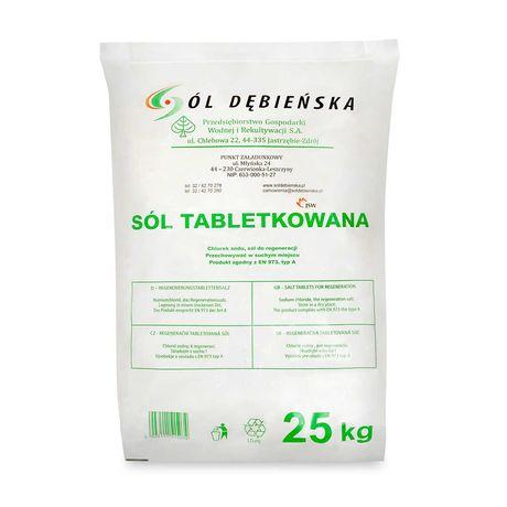 Sól w tabletkach | Tabletki solne | 1000kg | Dostawa w cenie | FV