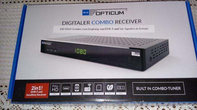ditgital HD dekoder dvb-t+tuner sat+tv na karte nc+