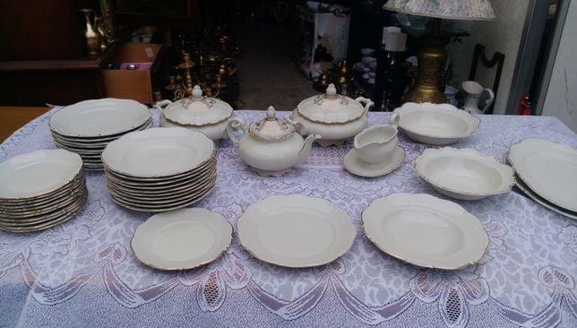 Zestaw obiadowy z porcelany Bawaria