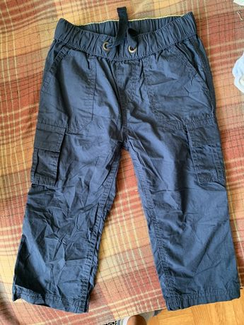 Котоновые брюки штаны -трансформеры lupilu на рост 92