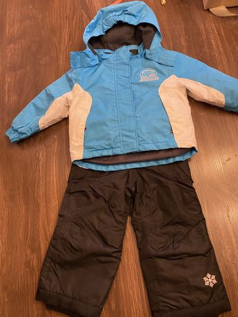 Konplet kurtka i spodnie narciarskie dla dziewczynki 86/92