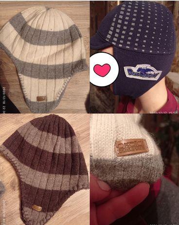 Зимние ,вязаные шапки,шапки на флисе.