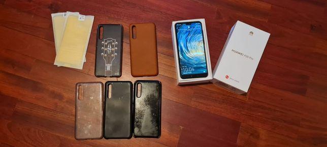 Huawei P20 PRO Black + 5 capas + 3 Películas temperadas + Caixa