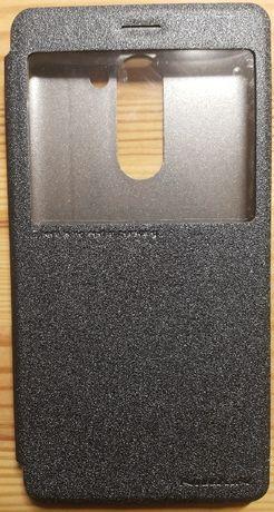 Кожаный чехол (книжка) Nillkin Sparkle Series для Huawei Mate 9 Lite