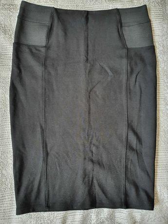 Черная юбка -карандаш