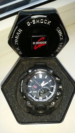 Крутые Часы  G-SHOCK GW-3000 Black-Silver, BOX