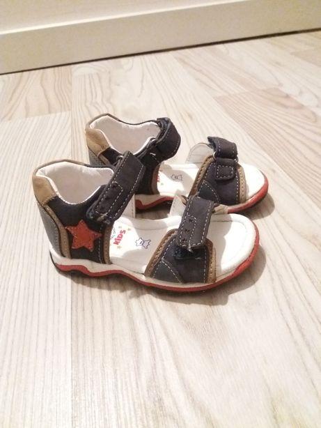 Sandałki 20 lasocki skóra