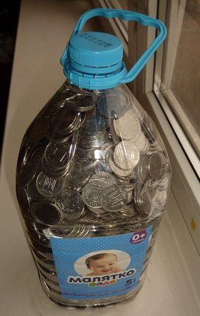 Монеты 5 копеек на вес (40грн./1кг.) Украина
