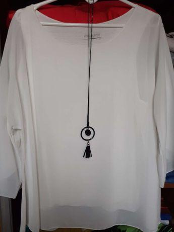 Elegancka zwiewna bluzeczka 42-44
