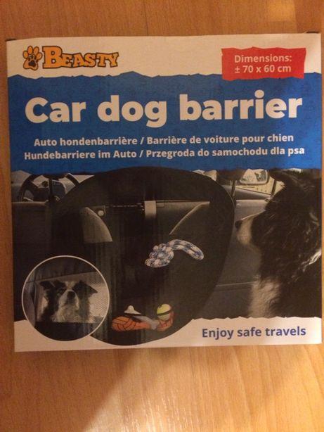 Przegroda do samochodu dla psa