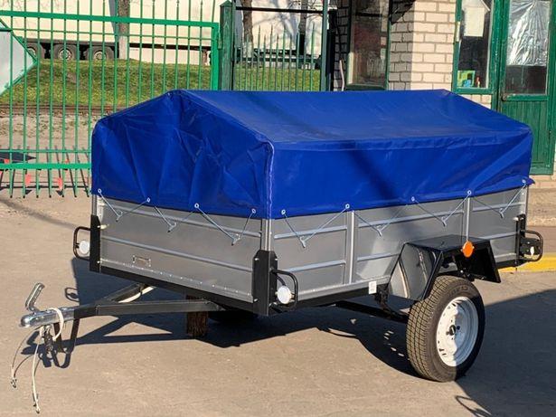 Одноосный прицеп ЛЕВ 22 от производителя Тент в подарок ДОСТАВКА ЗА Н