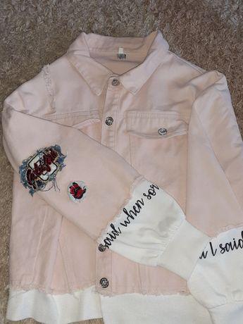 Куртка котонова весняна або тепла осінь