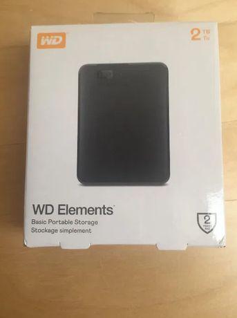 WD Elements Western Digital 2 TB Dysk zewnętrzny