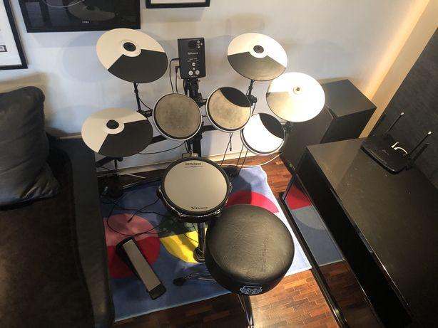 Perkusja elektroniczna Roland TD1K + dodatki