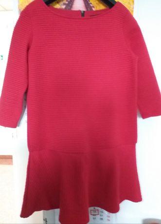 Czerwona sukienka Reserved r. S M