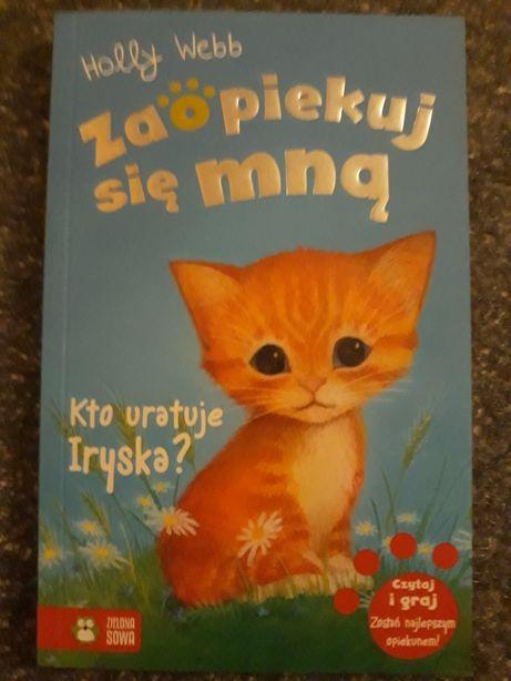 Książka zaopiekuj się mną