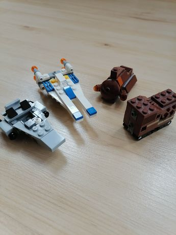 Lego Star Wars, microfighter, micro, statek, rebel, gazetka