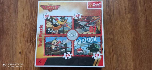 Nowe puzzle zafoliowane Disney Planes 2. 4w1.