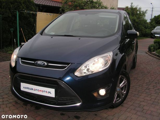 Ford C-Max Idealny 1wł Od Nowości Faktura Vat23% Aso Ford Polska