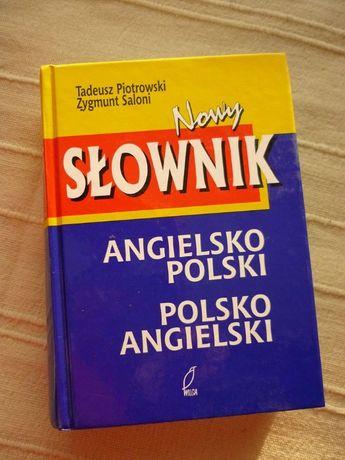 Nowy Słownik angielsko-polski polsko-angielski, piotrowski, Saloni