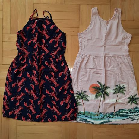 Gap Old Navy dwie sukienki 10-12 rozmiar 140 jak nowe