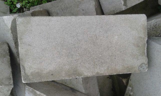 Cegła biała 6x12x24 20 szt kostka, kamień