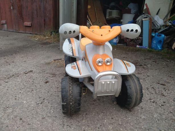 Дитячий електромобіль квадроцикл під ремонт