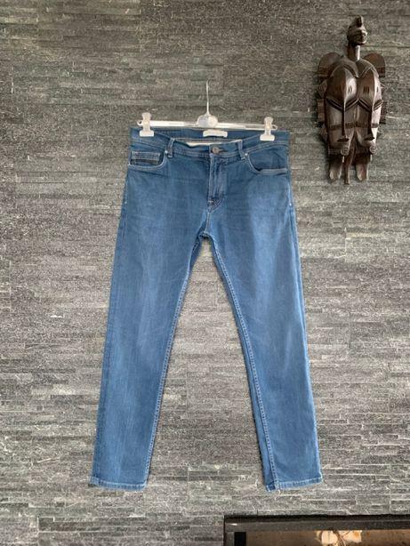 r. 44 / r. XL / ZARA spodnie dżinsowe