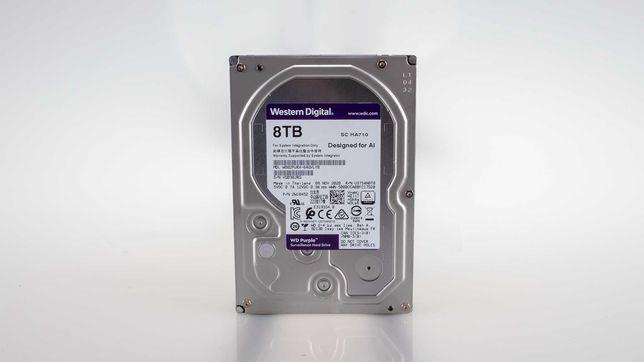 "Baixa de preço: 1x HDD 3.5"" Western Digital Purple 8TB 7200RPM 256MB"